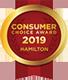 2019 consumer award logo